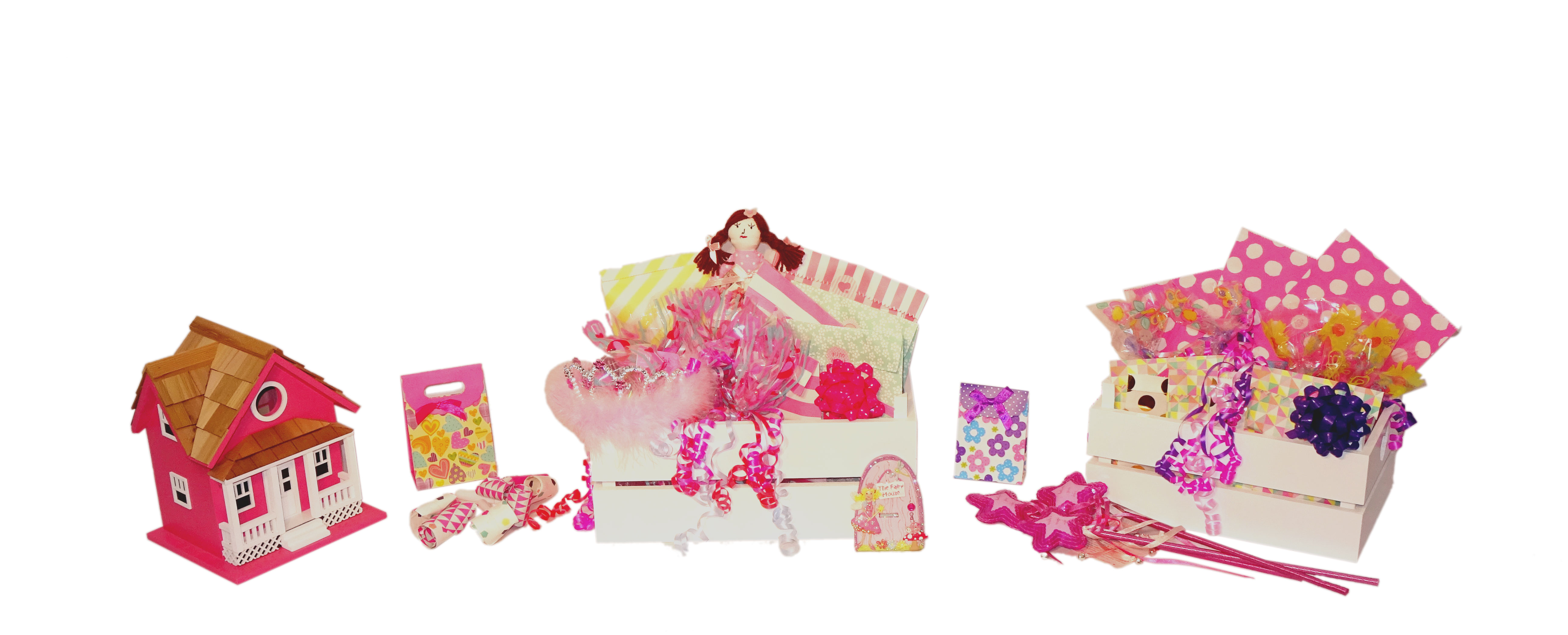 Girls Filled Party Bags
