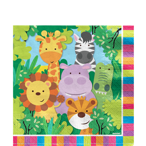 Animal Friends Party Napkin