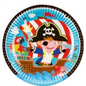 Captain Pirate Plate