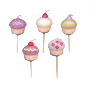 Cup Cake Shaped Candles