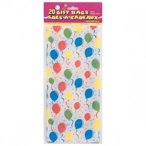 Balloon Pattern Party Bags