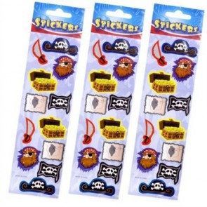 Pirate Stickers Party Bag Filler