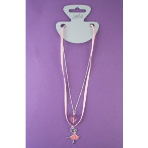 Ballerina Charm Necklace
