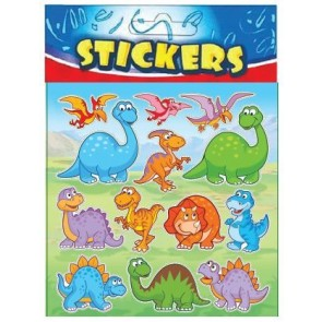 Dinosaur Stickers Party Bag Filler