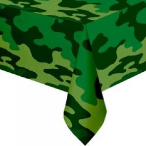 Army Camouflage Party Tablecover