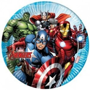 Avengers Party Plates