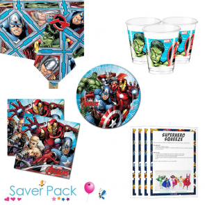 Avengers Tableware Saver Pack