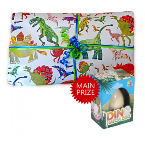 Dilbert Dinosaur Pass the Parcel - Parcel And Main Prize
