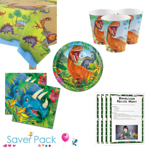Dinosaur Adventure Saver Pack with Game