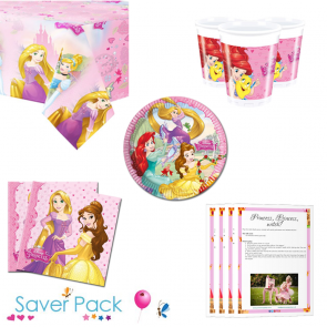 Disney Princess Party Tableware Saver Pack
