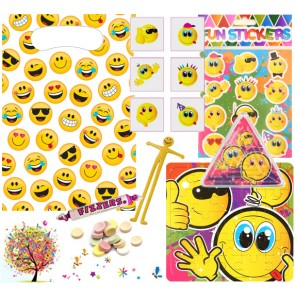 Emoji pre filled party bag - contents