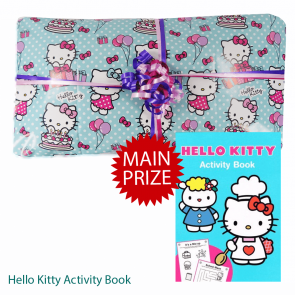 Hello Kitty Pass The Parcel And Main Prize