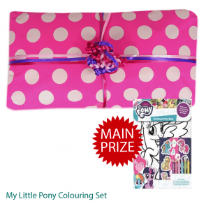 My Little Pony Pass The Parcel And Main Prize