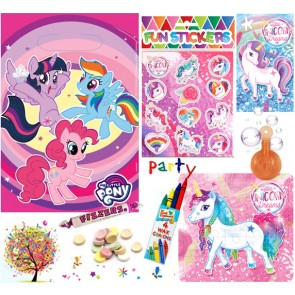 My Little Pony pre filled party bag