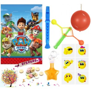 Paw Patrol pre filled party bag - contents