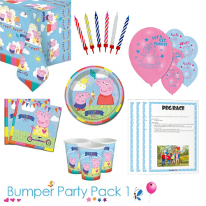 Peppa Pig Tableware Bumper Pack