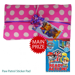 Pink Paw Patrol Pass The Parcel And Main Prize