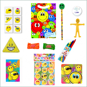 Smiley Face Party Bag - Just Fill Ready to Make