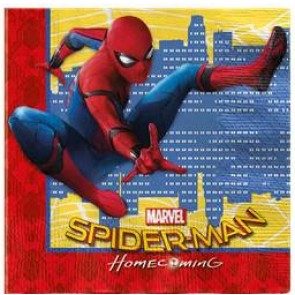 Spiderman Homecoming Party Napkins