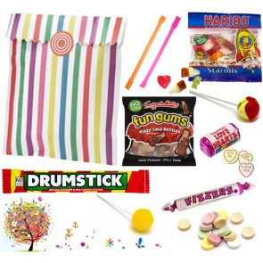 Ready Made Pre Filled Sweets Party Bag / Candy Bag