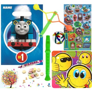 Thomas the Tank Engine pre filled party bag - contents