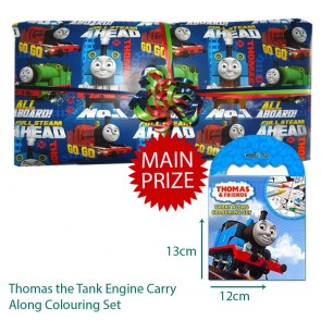 Thomas The Tank Engine Pass The Parcel And Main Prize