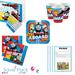 Thomas the Tank Engine Party Tableware Saver