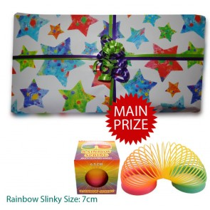 Unisex Best Value Pass The Parcel And Main Prize - Option 3 10 layers